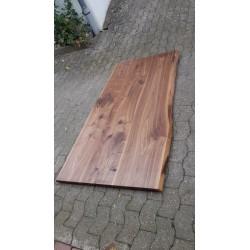 Tischplatten auf Maß Amerikanischer Nussbaum 40mm vollmassiv
